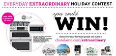 Chatelaine Everyday Extraordinary Holiday Contest - Chatelaine