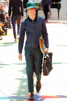 Burberry Prorsum | Spring 2015 Menswear Collection #lcm #ss15