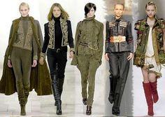 Современные пиджаки в стиле милитари