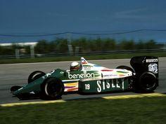 1986 Benetton B186 - BMW (Teo Fabi)