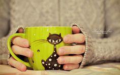 Have Some Coffee Coffee Shot, Coffee Cups, Tea Cups, Coffee Time, Miniture Animals, Miniture Things, Diy Mugs, The Pussycat, Tea Pot Set