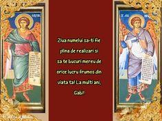 Felicitari de Sfintii Mihail si Gavril Baseball Cards, Sports, Hs Sports, Sport