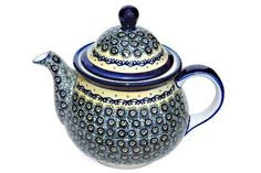 Polish Pottery Renaissance Large Teapot * To view further for this item, visit the image link.(This is an Amazon affiliate link and I receive a commission for the sales)