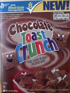 SPOTTED ON SHELVES – General Mills Chocolate Toast Crunch Cereal | The Impulsive Buy