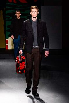 Prada Spring 2014 Menswear Collection Slideshow on Style.com