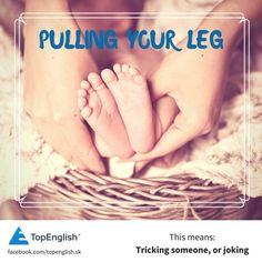 pulling your leg English Idioms, Jokes, Husky Jokes, Memes, Funny Pranks, Lifting Humor, Humor, Pranks, Chistes