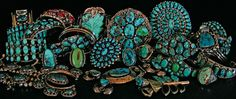 Turquoise jewelry from Abby Kent Flythe Fine Art