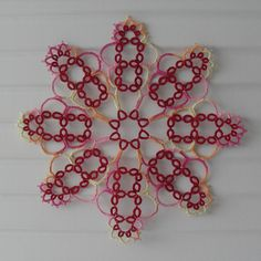 """Beatrice(c)Iris Niebach Tatted Doilies #tatting #tattinglace #태팅레이스"""