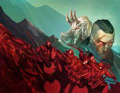 ArtStation - Demonslayer covers, Ivan Elyasov