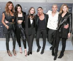 Jourdan Dunn, Kendall Jenner, Ann-Sofie Johansson, Olivier Rousteing, Dudley O'Shaughnessy et Gigi Hadid http://www.vogue.fr/mode/inspirations/diaporama/les-looks-des-clbrits-au-dfil-balmain-x-hm-new-york/23261#jourdan-dunn-kendall-jenner-ann-sofie-johansson-olivier-rousteing-dudley-oshaughnessy-et-gigi-hadid