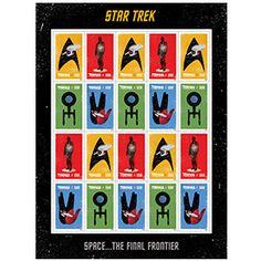Star Trek 2016 Stamps