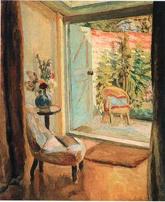 Vanessa Bell. The open door, 1926