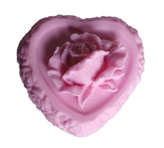 Valentines Soap  Rose Soap  Decorative Soap  by EnchantedBeehive