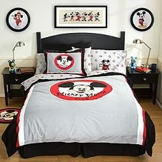 The Best Mickey Mouse Bedding Sets - Sheets Bedspreads Comforters