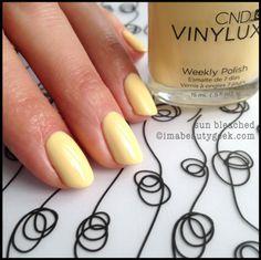 CND Vinylux Sun Bleached - Vinylux Spring 2014