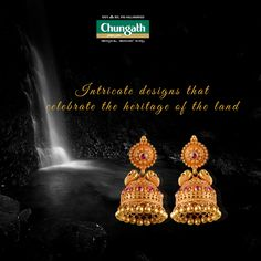 Add some masterpieces to your jewellery collection Buy Now : https://www.chungathjewellery.com/gold/earrings