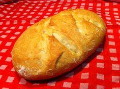 La cocina de mi abuela P: Pan casero , fácil, fácil y rápido Oven Recipes, My Recipes, Cooking Recipes, Recipies, Cooking Dishes, Cooking Time, Bread Ingredients, Pan Dulce, Pan Bread
