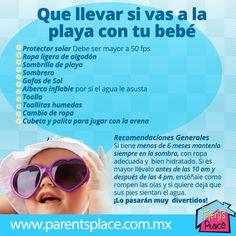 Que llevar si vas a la playa, busca tips e información del desarrollo de tu hijo en www.parentsplace.com.mx
