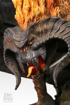 84 best The Balrog images on Pinterest   Lord of the rings  Middle     Polystone Statue   Flame of Udun  The Balrog of Moria  9339