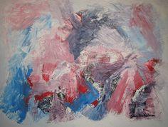 Maleri Roseduft 60x80 cm