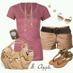 Summer Short Outfit