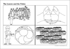 The Loaves and Fishes story sequencing (SB9353) - SparkleBox
