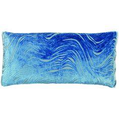 Aurelia Pillow in Delft design by Designers Guild