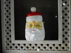 VINTAGE Santa Claus Cookie Jar Empire by VeiledThroughTime on Etsy, $19.00