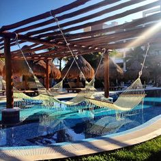 Excellence Playa Mujeres beautiful pool areas. #AdultsOnlyVacations