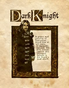 """Dark Knight"" - Charmed - Book of Shadows"