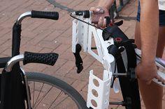Disfruta de un paseo en bici con tu silla de ruedas. http://www.ortopediaenlinea.com/producto/kit-adaptacion-con-bicicleta/