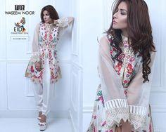 Waseem Noor Summer Dresses 2016-17 Eid Collection
