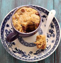 ¡Es la hora del mug cake!Delicioso!!!