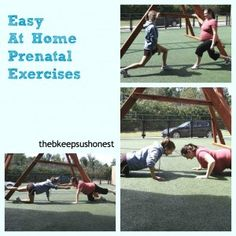 Prenatal Exercises with video