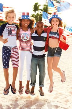 Americana Collection | The Children's Place | #starsandstripes #kidsclothing