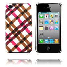 Barsberry 4 (Rosa Diagonal) iPhone 4/4S-Skal