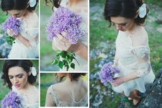 #delicate #lilac #white #dress #orchid #flower