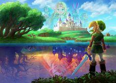 A Link Between Worlds Full Size Artwork.