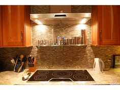 Ansley Park townhomes for sale   238 15th Street   #18 Westchester Natural Stone And Glass Tile Backsplash
