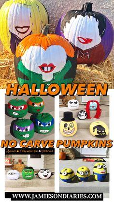 Ninja Turtle Pumpkin, Minion Pumpkin, Owl Pumpkin, Pumpkin Faces, Halloween Pumpkins, Fall Halloween, Halloween Crafts, Christmas Pumpkins, Book Character Pumpkins