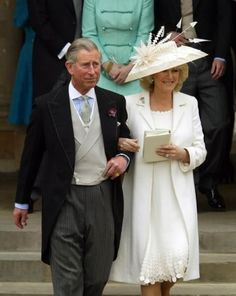 Duchess of Cornwall at her civil wedding to Prince Charles