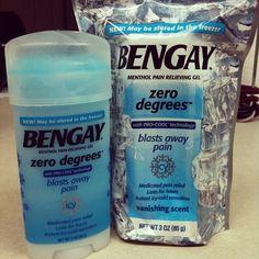 Bengay Zero Degrees