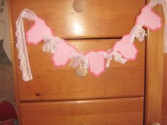 Handmade Baby Shower Onesies Banner Hand Made by RubysPlaceInTime, $18.50