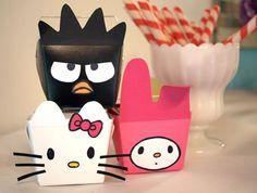 DIY Hello Kitty party