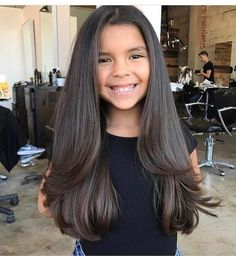Cute Long Haircuts, Girls Haircuts Medium, Teen Haircuts, Haircuts For Long Hair With Layers, Little Girl Haircuts, Long Layered Haircuts, Children Haircuts, Toddler Hairstyles, Medium Layered Hair