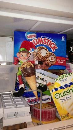 ol sweet tooth! elf on shelf