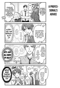 Gekkan Shoujo Nozaki-kun Chapter 68 | Hori and Kashima if they were in a shoujo manga, but they are in a shoujo manga! (It is literally Kashima's thought's of Hori if their roles were switched) Nozaki, stop trying to change them, they are perfect, they just need to be together!