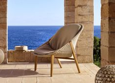 Tribu Tosca Garden Club Chair - Tribu Outdoor Furniture At Go Modern Outdoor Furniture Sofa, Modern Garden Furniture, Furniture Market, Garden Club, Club Chairs, Design Firms, Sun Lounger, Teak, Armchair