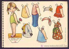 Recortable de muñecas: Recortes Baby num.12 (Editorial Roma) - Foto 1