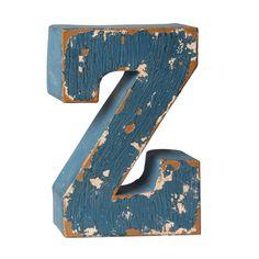make market 3d painted metal letter 9 assorted colors 897 livin